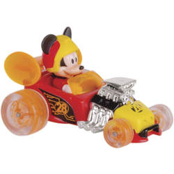 Lanceur super looping Mickey et voiture de course