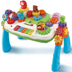 Table d'activité Zoooz à engrenages magiques