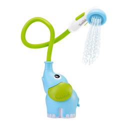 Douche de bain éléphant bleue