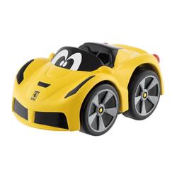 Mini Ferrari La Aperta Jaune à rétro-friction