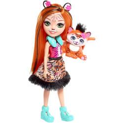 Enchantimals mini-poupée Tanzie Tiger et Tuft