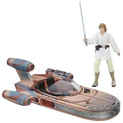 Star Wars Black Series - Luke Skywalker et son Landspeeder