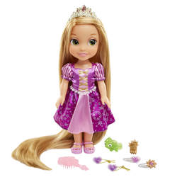 Poupée Raiponce 38 cm cheveux longs et accessoires