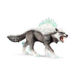 Figurine loup des neiges