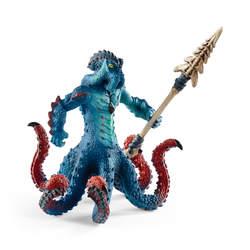 Figurine pieuvre Kraken avec arme