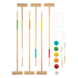 Croquet en bois 6 joueurs