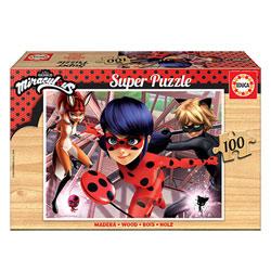 Puzzle en bois 100 pièces Miraculous