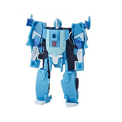 Transformers Cyberverse-Robot 2 en 1 basique 12 cm
