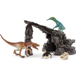 Kit de dinosaures avec grotte