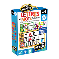 Loto lettres et mots Montessori
