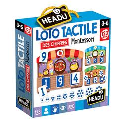 Loto tactile 123 Montessori