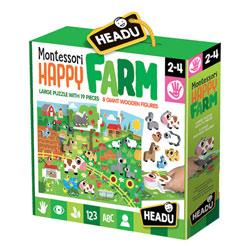 Puzzle Montessori Happy Farm