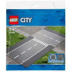 60236 - LEGO® City Plaques droite et intersection
