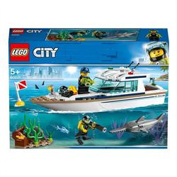 60221 - LEGO® City Le yacht de plongée