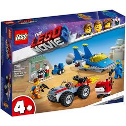 70821 - LEGO® MOVIE 2 L'atelier construire et réparer d'Emmet et Benny