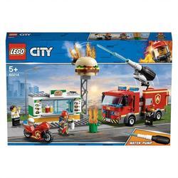 60214 - LEGO® City L'intervention des pompiers au restaurant de hamburgers