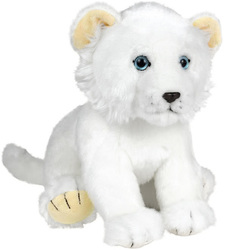 Mia et le lion blanc-Peluche lionceau 22 cm