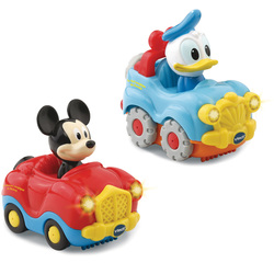 Coffret duo voitures Mickey et Donald Tut Tut Bolides - Disney
