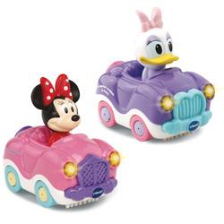 Coffret duo voitures Minnie et Daisie Tut Tut Bolides - Disney