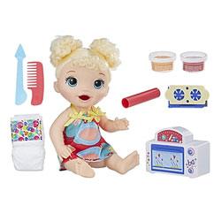 Baby Alive-Poupée blonde four magique