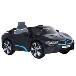 Véhicule électrique 12V BMW I8 noir avec télécommande
