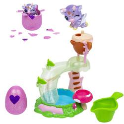 Hatchimals saison 5-Toboggan avec figurine
