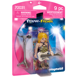 70031 - Playmobil Family Fun - Star du rock