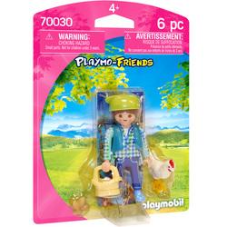 70030 - Playmobil Country - Fermière avec poule