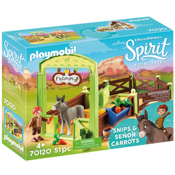 70120 - Playmobil Spirit - La Mèche et Monsieur Carotte Box