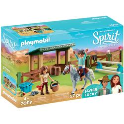 70119 - Playmobil Spirit - Entrainement Lucky et Javier