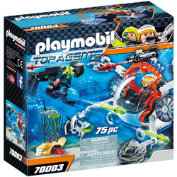 70003 - Playmobil Top Agents - Robot sous-marin Spy Team