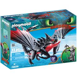 70039 - Playmobil Dragons 3 - Agrippemort et Grimmel