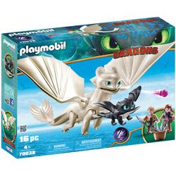 70038 - Playmobil Dragons 3 - Furie Éclair enfants et dragon