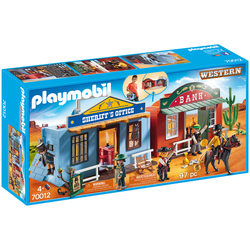 70012 - Playmobil Western - Coffret de Far-West transportable