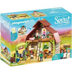 70118 - Playmobil Spirit - Grange avec Lucky, Apo, Abigaëlle