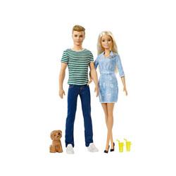 Barbie-Coffret poupées Barbie et Ken