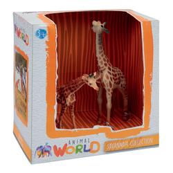 Coffret figurines girafes