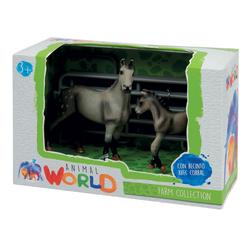 Coffret figurines chevaux