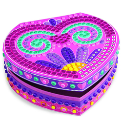 Sticky Mosaics boîte coeur à bijoux