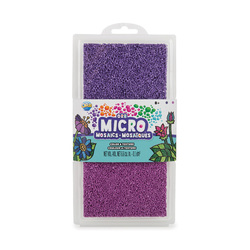 Recharge billes lilas ORB Micro Mosaïques