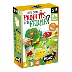 Puzzle les produits de la ferme