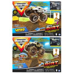 Monster Jam-Coffret Monster Dirt avec sable Kinetic