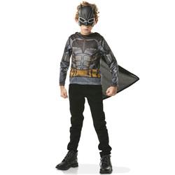 DC Comics-Plastron avec masque Batman 3/6 ans