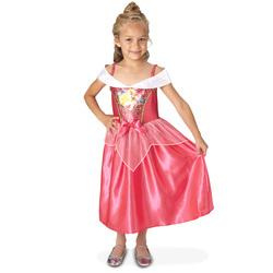 Déguisement Aurore robe sequins 5/6 ans - Disney Princesses