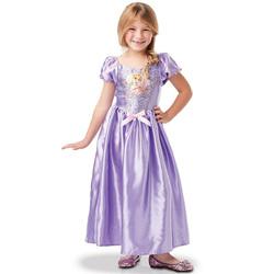 Déguisement Raiponce robe sequins 7/8 ans - Disney Princesses