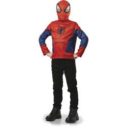 Avengers-Plastron avec cagoule Spiderman 3/6 ans