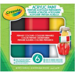 Peinture acrylique permanente couleurs primaires