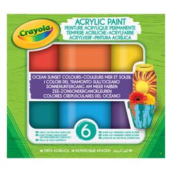 Peinture acrylique permanente couleurs mer et soleil