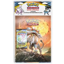 Pokémon-Cahier range cartes et booster Soleil et Lune 10