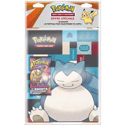 Pokemon - Cahier range cartes et booster Soleil et lune 11
